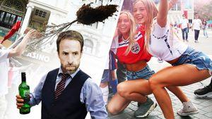 Англичане дрались, вырывали деревья, громили авто, а Италия— чемпион! Так прошел финал Евро: фото