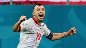 Пандев стал 2-м самым возрастным футболистом, забивавшим на чемпионатах Европы