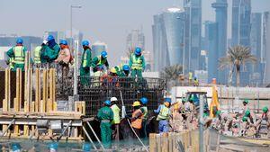 На строительстве объектов к ЧМ-2022 в Катаре погибли 1400 рабочих. Они умирают каждые три дня