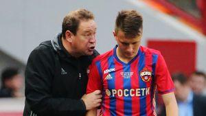 Слуцкий: «Ни при каких обстоятельствах не желаю Головину возвращения в чемпионат России»