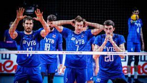 Волейболисты сборной России обыграли Италию в Лиге наций