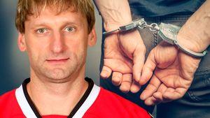 Водил пьяным вСША иполучил тюремный срок. Большой скандал вкарьере русского вратаря Хабибулина
