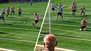 В Австралии защитник добил мяч в свои ворота после отраженного вратарем пенальти