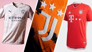 Как будут выглядеть формы в новом сезоне: «апельсиновый» «Ювентус», брит-поп «Манчестер Сити», классика «Баварии»