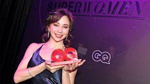 Туктамышева — суперженщина года по версии GQ. На церемонию Лиза вышла в шикарном черном платье