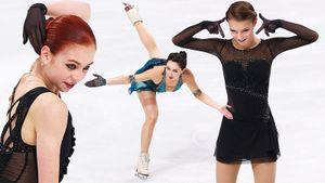 Тутберидзе аплодировала рекордсменке Трусовой, Валиева хваталась за лицо. Главные фото старта сезона в фигурке
