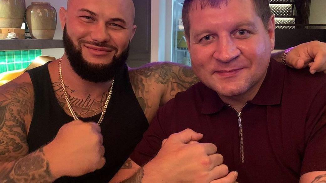 Александр Емельяненко показал фото с рэпером Джиганом: На расслабоне, на чиле