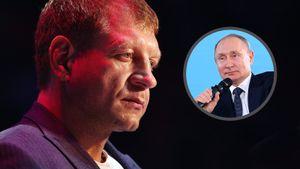 А. Емельяненко — о президенте РФ: «На сегодняшний день я не вижу более подходящей кандидатуры, чем Путин»