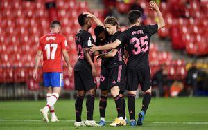 «Реал» разгромил «Гранаду» и вернулся на 2-е место в Ла Лиге