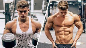 Как накачать грудные мышцы: суперсет упражнений для мужчин отзвезды фитнеса
