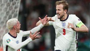 Сказку Дании уничтожил спорный пенальти: Кейн с добивания пробил Шмейхеля и затащил Англию в финал