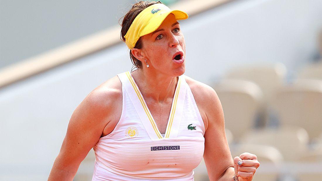 Павлюченкова - в полуфинале Ролан Гаррос - за 2,5 часа дожала Рыбакину. До этого проиграла 6 четвертьфиналов ТБШ