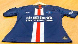 «ПСЖ» вышел вспециальных футболках наигру с«Бордо», поддержав Китай вборьбе скоронавирусом