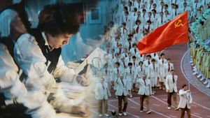 Мода на Олимпиаде-80: парадная форма от Вячеслава Зайцева, платья сафари от Ив-Сен Лорана и кроссовки adidas