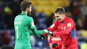 ЦСКА вернет Помазуна из «Урала» после того как Акинфеев заболел коронавирусом