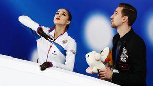 Загитова иГлейхенгауз провели онлайн-тренировку иответили навопросы болельщиков: видео