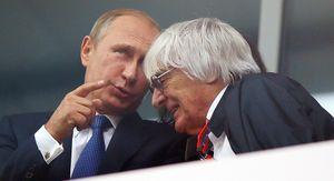 «Он — лидер сверхдержавы». Промоутер — о том, почему Путина пускают к пилотам Формулы-1 после гонки