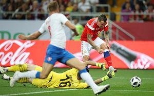 Россия — Чехия — 5:1. Россия разбила чехов на «Ростов Арене». Как это было