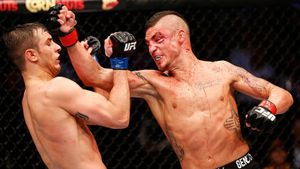 Диего Санчес в UFC — 16 лет безумных и кровавых боев. Его выгнали из-за очень странного тренера