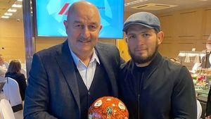 Черчесов пожелал удачи Хабибу в бою с Гейджи в UFC: «Знаем, верим и убеждены»