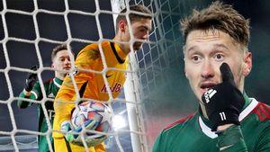 Вратарь «Зальцбурга» спровоцировал потасовку, Миранчук целовал мяч. Главные фото поражения «Локомотива»
