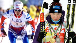 Резцова, Мякяряйнен, Форсберг идругие лыжницы, ставшие звездами биатлона