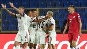 Бельгия выиграла у Белоруссии в Казани, Уэльс не смог обыграть Эстонию