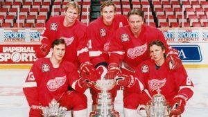 Русская пятерка «Детройта» играла в самый умный хоккей в НХЛ. Но никто из героев 90-х не стал великим тренером