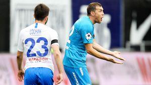 «Зенит» — «Динамо» 2:0. Гол и голевая Дзюбы решили судьбу матча. Как это было