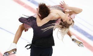 Синицина и Кацалапов завоевали первое за 12 лет золото для России на ЧМ в танцах на льду. Видео победного проката