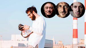 Фотограф, который работал с Тотти, Малкиным и Де Ниро. Мы с ним поговорили