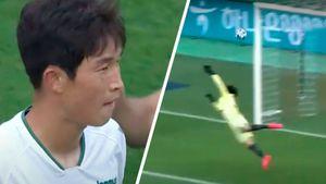 «Какой шикарный удар в девятку!» В Южной Корее футболист забил красивый гол с дальней дистанции: видео