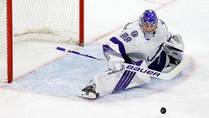 Василевский назван первой звездой недели в НХЛ