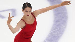 Фигуристка Константинова возобновила тренировки после вынужденной паузы