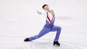 Сын русских чемпионов выиграл первенство США среди юниоров. Его кумир — Евгений Плющенко
