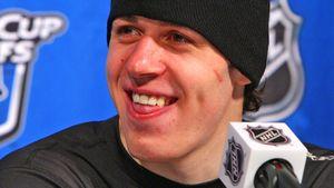 Хоккеист Малкин продемонстрировал навыки игры в баскетбол