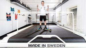 Хейтер России Самуэльссон обзавелся тредбаном перед Олимпиадой. Купилли такое лыжник Большунов— загадка