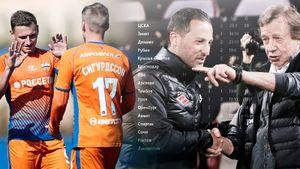 Турнирная таблица чемпионата России, еслибы онпроводился вмежсезонье. «Локо» и«Спартак»— внизу