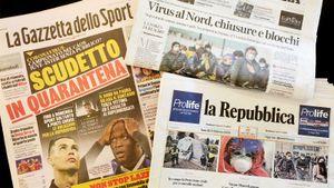 «Такого небыло соВторой мировой». Итальянский инсайдер Палмери вместо футбола теперь говорит окоронавирусе