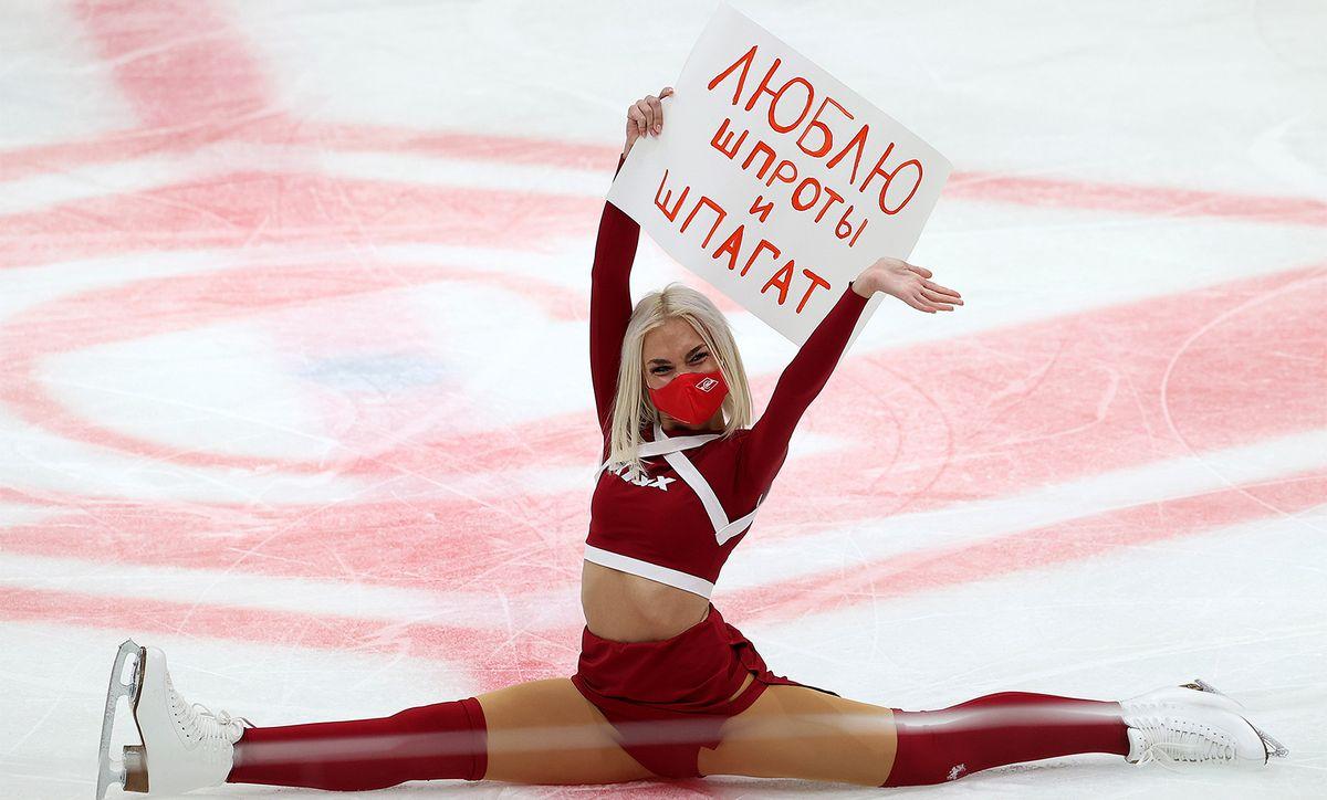 «Спартак» одержал волевую победу над рижским «Динамо» в КХЛ