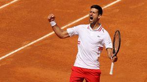 Джокович победил Циципаса и вышел в полуфинал турнира в Риме