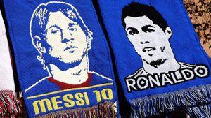 Испанские болельщики признали Криштиану лучшим игроком вистории футбола. Месси— второй, Роналдо— третий
