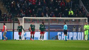 Российские клубы продлили серию без побед на групповом этапе еврокубков до 17 матчей