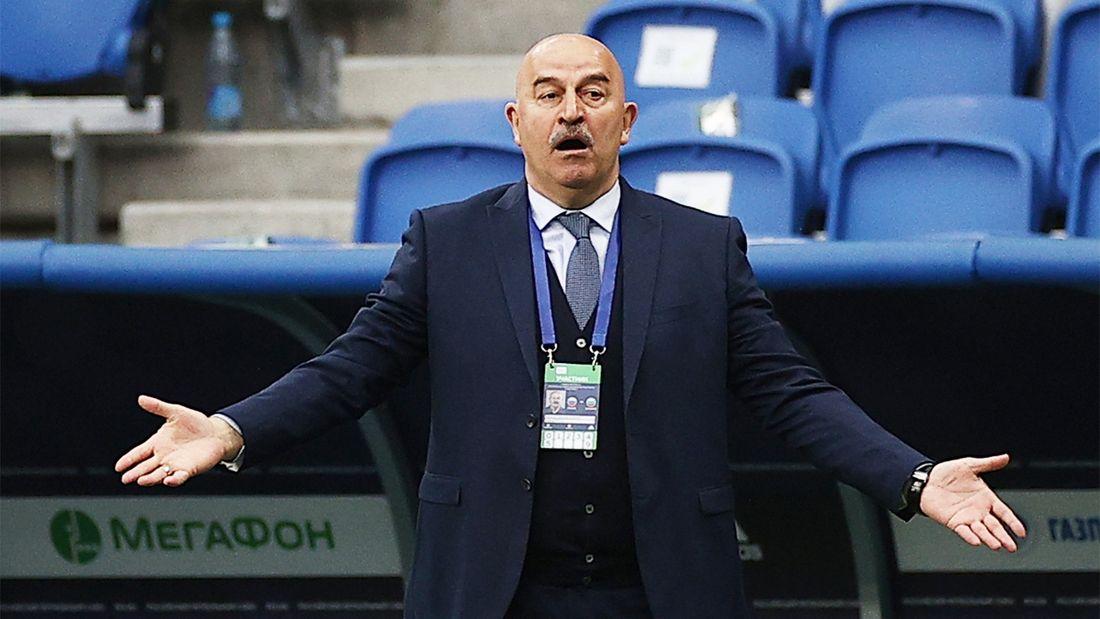 Что в сборной России с травмами и почему хавбек Баринов сыграл защитника. Черчесов - за неделю до старта на Евро