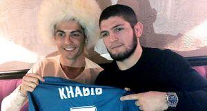 «Твой отец гордится тобой». Роналду поздравил Хабиба с победой над Гейджи