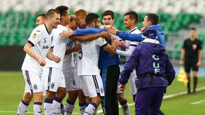 «Рубин» вырвал ничью в матче с «Уфой». Агаларов забил 10-й гол в сезоне
