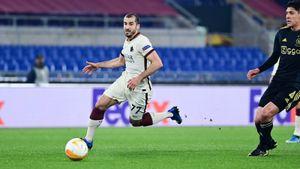«Рома» сыграла вничью с «Аяксом» в ответной игре и пробилась в полуфинал Лиги Европы