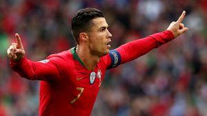 Криштиану выиграл еще один трофей сосборной. Португалия добила Голландию вфинале Лиги Наций