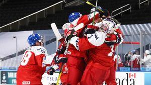 Чехи матерились, празднуя победу над Россией на МЧМ: видео