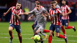 «Атлетико» победил «Атлетик» в отложенном матче Ла Лиги